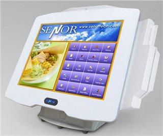سیستم فروشگاهی لمسی پوز سنور Senor ISPOS 750